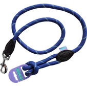 Dog & Co Mountain Rope Trigger Lead Blue Reflective 120cm