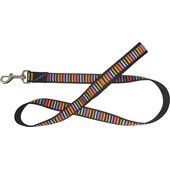 Hem & Boo Nylon Lead With Padded Handle Block Dog Multi Colour