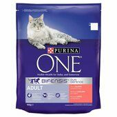 4 x Purina One Adult Rich In Salmon & Whole Grains 800g