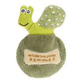 6 x Earthy Pawz Squeaker Snail Toy