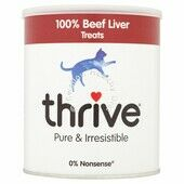 Thrive Cat Treats 100% Beef Liver 225g