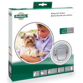 Staywell Deluxe Manual 4 Way Locking Cat Flap Frosted