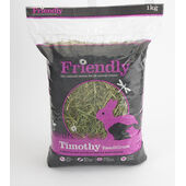4 x 1kg Forthglade Friendly Timothy Readigrass For Small Animals