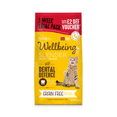 6 x Burgess Wellbeing Grain Free Slender Chicken 500g