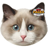 Pet Faces Cushion Ragdoll Cat 45cm