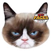 Pet Faces Cushion Grumpy Cat 45cm