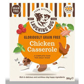8 x Laughing Dog Gloriously Grain Free Chicken Casserole 395g