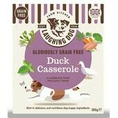 8 x Laughing Dog Gloriously Grain Free Duck Casserole 395g