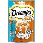 8 x 60g Dreamies Extra Crunch Salmon