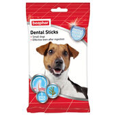 12 x Beaphar Dental Sticks For Small Dogs