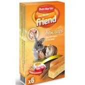36 x Bob Martin My Little Friend Egg Biscuits With Apple 60g