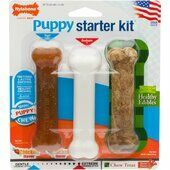 Nylabone Puppy Chew Starter Kit Chicken Small