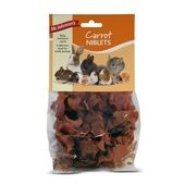 6 x 80g Mr Johnson's Small Animal Treat Carrot Niblets