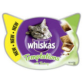 8 x 60g Whiskas Cat Temptations Turkey