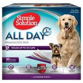 Simple Solution All Day Premium Dog Pads (50 pack) 23