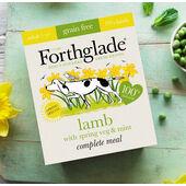 7 x Forthglade Complete Grain Free Adult Lamb Spring Veg & Mint 395g