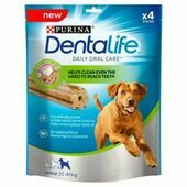 5 x Purina Dentalife Daily Oral Care Chicken Chew Adult Large Breed 4 Pack