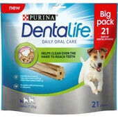 3 x Purina Dentalife Daily Oral Care Chicken Chew Adult Small Breed 21 Pack