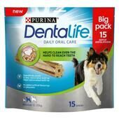 3 x Purina Dentalife Daily Oral Care Chicken Chew Adult Medium Breed 15 Pack