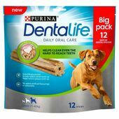 3 x Purina Dentalife Daily Oral Care Chicken Chew Adult Large Breed 12 Pack