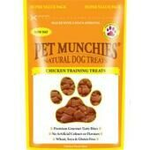 8 x Pet Munchies Chicken Dog Training Treat 150g