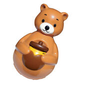 Kong Bat-a-Bout Chime Bear Cat Toy