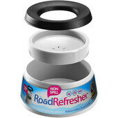 Road Refresher Non Spill Water Bowl Grey Small