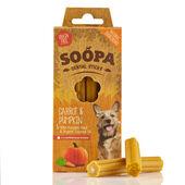 10 x Soopa Dental Sticks Pumpkin & Carrot 100g