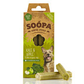 10 x Soopa Dental Sticks Kale & Apple 100g