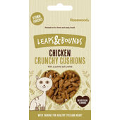 12 x Rosewood Leaps & Bounds Chicken Crunchy Cushions 60g
