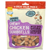 3 x 350g Good Boy Pawsley Chicken Dumbbells