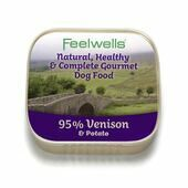22 x 150g Feelwells Gourmet Venison & Potato Wet Dog Food