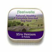 22 x 150g Feelwells Gourmet Venison & Potato Wet Dog Food