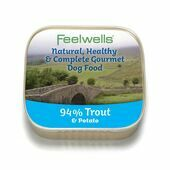 22 x 150g Feelwells Gourmet Trout & Potato Wet Dog Food