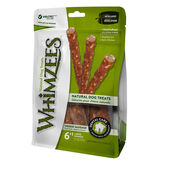 6 x Whimzees Veggie Sausages Bags