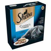 48 x Sheba Tray Classics Ocean Collection In Terrine 85g