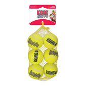 6 x Kong Air Squeaker Tennis Balls Medium