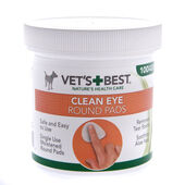 Vets Best Clean Eye Round Pads Wipes 100