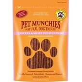 Pet Munchies Natural Dog Treat Chicken and Sweet Potato Sticks