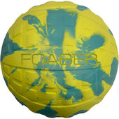 Foaber Bounce Green/blue Marble Dog Toy