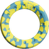 Foaber Roll Green/blue Marble Dog Toy