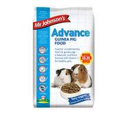 4 x Mr Johnson's Advance Guinea Pig 1.5kg