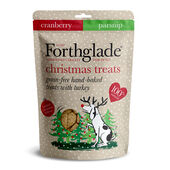 7 x Forthglade Baked Gf Treats Xmas Cranberries & Parsnip 150g