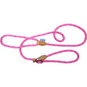 Dog & Co Supersoft Rope Slip Lead Pink