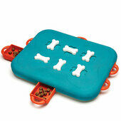 Nina Ottosson Level 3 Dog Casino Turquoise Dog Toy