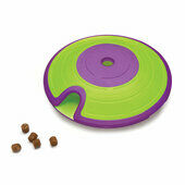 Nina Ottosson Level 2 Treat Maze Green Dog Toy
