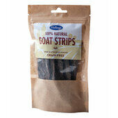60 x Hollings 100% Natural Goat Strips Dog Treat