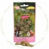 12 x Rosewood Simply Nibbles Garden Herb & Apple Cushions 50g