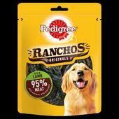 7 x Pedigree Ranchos Originals Dog Treats With Lamb 70g