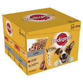 48 x Pedigree Dog Pouches Mixed Selection In Loaf 100g